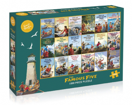 The Famous Five - Jigsaw Puzzle (1000 pieces)